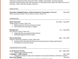 Nail Tech Resume Sample Veterinary Assistant Resume Examples Sample Lab Technician Resume