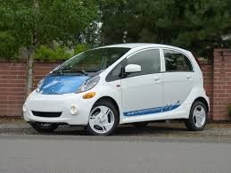 mitsubishi electric car 2012 mitsubishi i first drive u s spec miev