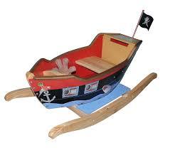 dreamfurniture com teamson kids pirate boat rocker with sword