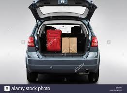 Dodge Journey Se - 2009 dodge journey se in silver trunk props stock photo royalty
