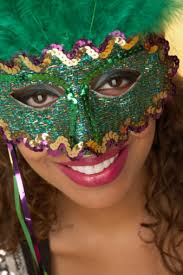 new orleans mardi gras mask s new orleans misconceptions the lighter side july