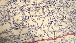 Vintage Maps Vintage Maps For Vintage Road Trips Youtube
