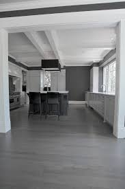 Grey Wood Floors Kitchen by St Louis Grey Hardwood Floors Kitchen Modern With Glass Top Dining
