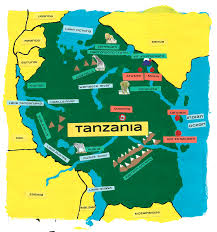 Tanzanian Flag Tanzania Welcome To Panafricaproject