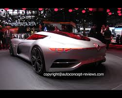concept renault trezor pure electric concept 2016