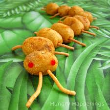 cute and creepy bug themed party food hungry happenings