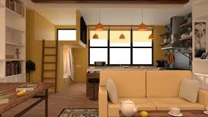 1 Room Apartment Design 3d Apartment Design New Cgtrader