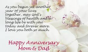 wedding wishes to parents happy anniversary and parents anniversary 2018 26th