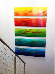 ombre wall custom by rosemary modern