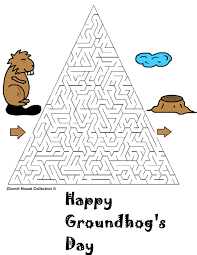 groundhog day mazes for