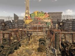 Fallout New Vegas Map With All Locations by The Strip North Gate Fallout Wiki Fandom Powered By Wikia