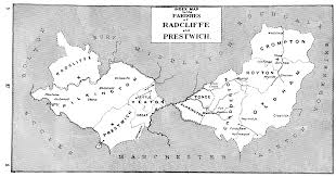 Lancashire England Map by The Parish Of Radcliffe British History Online