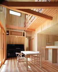 House With Wood Exteriors And Interiors In Japan - Japanese home designs