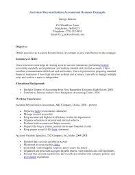 Accounts Payable Sample Resume by Accounting Clerk Resume Objective Sample Resume For Accounting