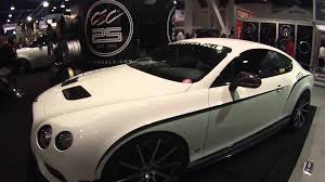 stanced bentley cars of sema 2015 2015 bentley continental gt3 r youtube