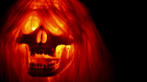 scary halloween photo background title scary skull horror background stock video footage videoblocks