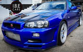 blue nissan skyline used 2000 nissan skyline r34 for sale in west yorkshire pistonheads