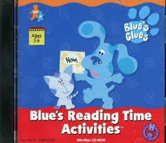 110 13913 blue u0027s clues blue u0027s reading activities video