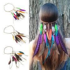 feather headbands shop feather hippie headbands on wanelo