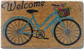 Outdoor Cing Rug Welcome Bicycle Mat