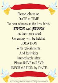 Wedding Quotes For Invitations 30 Wedding Invitation Wording Couple Hosting Casual Vizio Wedding