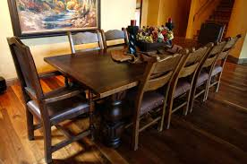 Mission Style Dining Room Sets Furniture Ergonomic Dining Ideas Spanish Mediterranean Kitchen