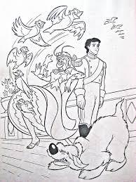 image walt disney coloring vanessa 4 jpg disney wiki fandom
