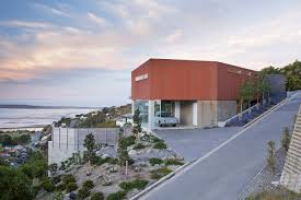 decoration stunning waterfront house design with sea view all images