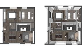 Studio Apartment 3d Floor Plans Architecture Architect Design 3d For Free Floor Plan Maker Designs