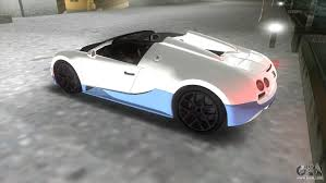 bugatti veyron grand sport bugatti veyron grand sport vitesse for gta vice city
