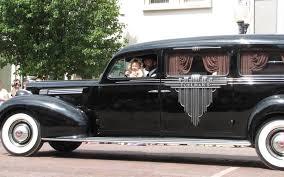 1939 packard hearse prairiesta parade fabulous deco door