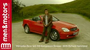mercedes benz slk 200 kompressor review with richard hammond