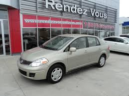 nissan tiida 2008 used 2008 nissan versa berline at rendez vous nissan 8779 0