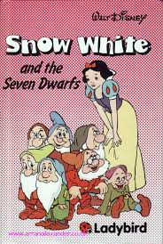 white u0026 dwarfs ladybird book disney edition gloss