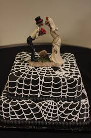picture of original halloween wedding cakes
