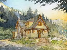 Storybook Architecture STORYBOOK COTTAGE STYLE HOME PLANS - Cottage style home designs