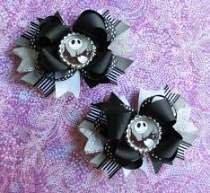 skellington ribbon skelleton hair ribbons seraphina hair ribbons