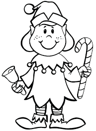 printable elf girl christmas elf coloring pages elf coloring page elves coloring pages