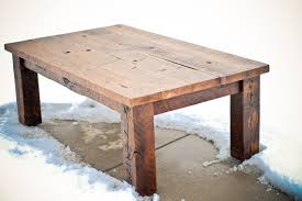 Futon Coffee Table Lg Custom Woodworking Reclaimed Wood Coffee Table And Futon Frame