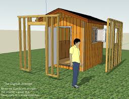 wall layout and framing basics for simple shed project fine