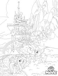 my little pony the movie coloring pages youloveit com