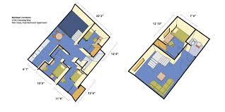 four bedroom house floor plans maximino martinez commons housing