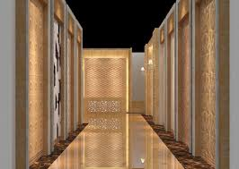 Home Wall Design Download by Hotel Corridors Marble Wall Design Rendering Download 3d House