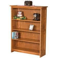 Mission Bookshelves by Wide Bookcase Solid Wood Amish Wooden Bookcase Tall Bookshelves