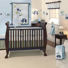 baby nursery gorgeous dark brown wooden bed frame complete with