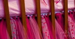 Crib Bed Skirt Diy Baby Crib Bumper Crafty Meggy