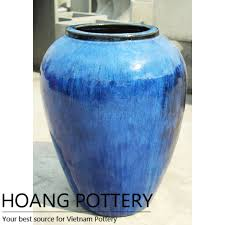belly shape glazed planter hpan016
