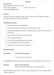 Sample Resume For Hotel Industry by Resume Templates U2013 127 Free Samples Examples U0026 Format Download