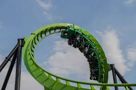 New York Six Flags Great Adventure Green Lantern Six Flags Great Adventure