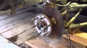 how to replace a chevy silverado front spindle bearings youtube